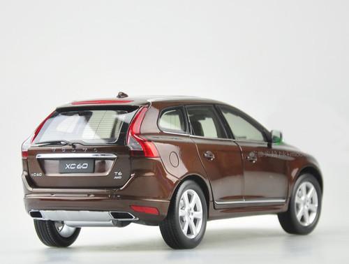1/18 Dealer Edition Volvo XC60 (Brown) Diecast Car Model