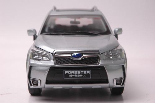 1/18 Dealer Edition Subaru Forester (Silver) Diecast Car Model