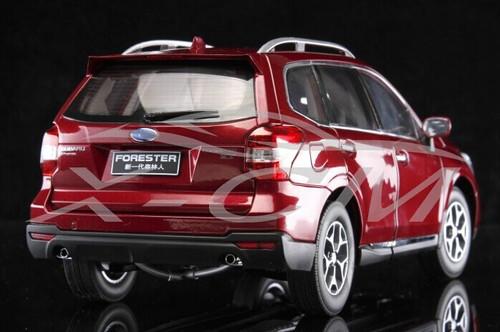 1/18 Dealer Edition Subaru Forester (Red) Diecast Car Model