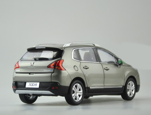 1/18 Dealer Edition Peugeot 3008 (Grey)