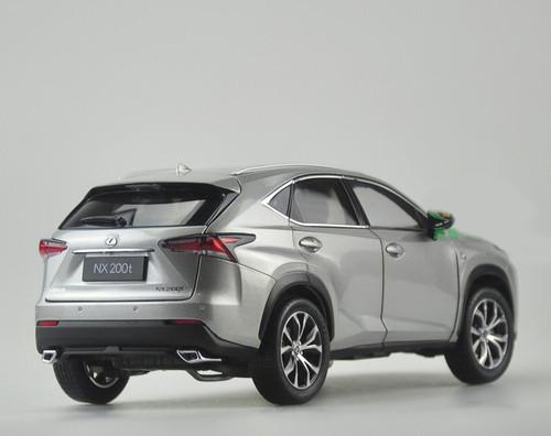 RARE 1/18 Dealer Edition Lexus NX NX200 NX300 F Sports (Silver Grey) Diecast Car Model