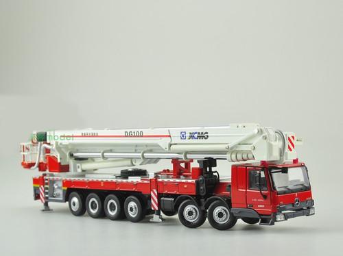 1/50 Mercedes-Benz DG100 Aerial Platform Fire Truck