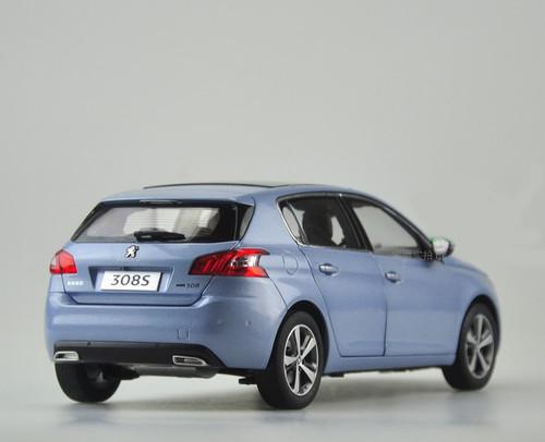 1/18 Dealer Edition Peugeot 308S 308 (Blue) Diecast Car Model