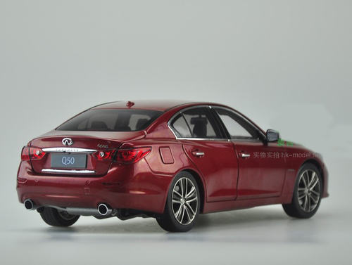 1/18 Dealer Edition Infiniti Q50 Q50S (Red) Diecast Car Model