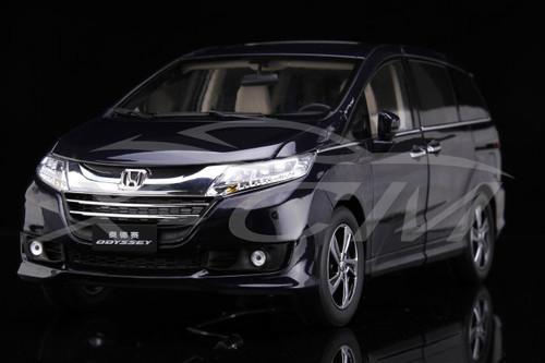 1/18 Dealer Edition 2015 2016 Honda Odyssey (Dark Blue) Diecast Car Model