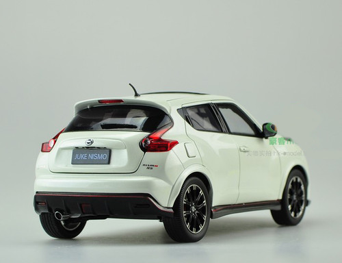 1/18 Dealer Edition Nissan Juke Nismo RS (White) Diecast Car Model