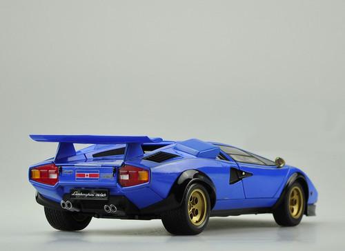 1/18 Kyosho Lamborghini Countach LP500S (Blue) Diecast Car Model