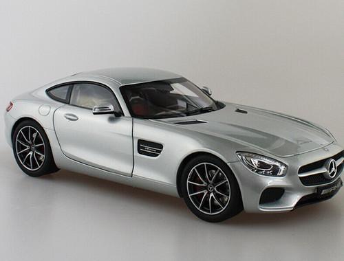 1/18 Dealer Edition Mercedes-Benz Mercedes AMG GT S GTS (Silver)