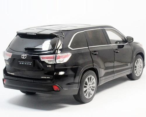 1/18 Dealer Edition 2015 Toyota Highlander (Black)