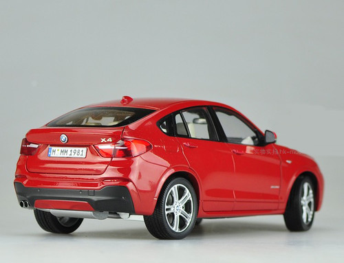 1/18 Dealer Edition BMW X4 F26 (2014–2018) (Red) Diecast Car Model