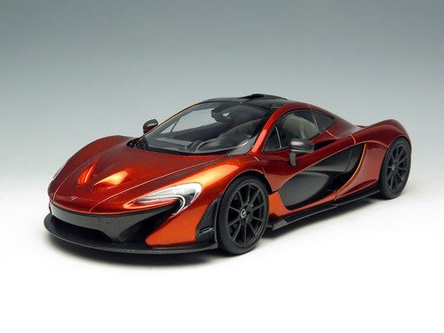 1/18 TSM Mclaren P1 Limited Edition (Volcanic Orange) Diecast Car Model