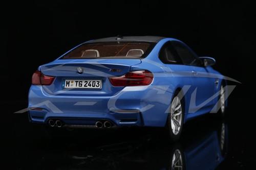 RARE 1/18 Dealer Edition BMW M4 F82 (Blue) Diecast Car Model
