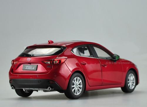 1/18 Dealer Edition Mazda 3 Axela Hatchback (Red)