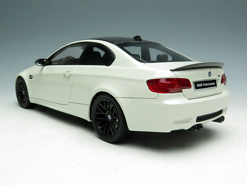 1/18 GT Spirit GTSpirit BMW E92 M3 (White) Resin Car Model Limited 500 Pieces!