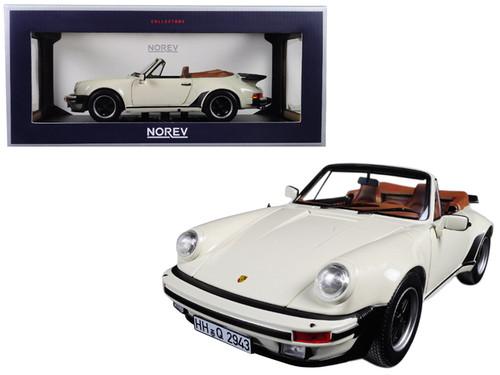 930 Turbo 3.3 Cabriolet Convertible 1987 Red 1:18 Norev Porsche 911