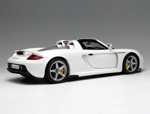 1/18 AUTOart Porsche Carrera GT (White) Diecast Car Model 78045