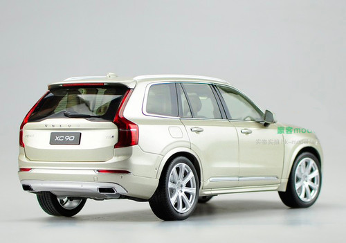 1/18 Dealer Edition 2015 Volvo XC90 (Silver)
