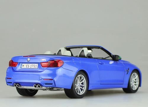 RARE 1/18 Dealer Edition BMW M4 F83 Convertible (Blue)