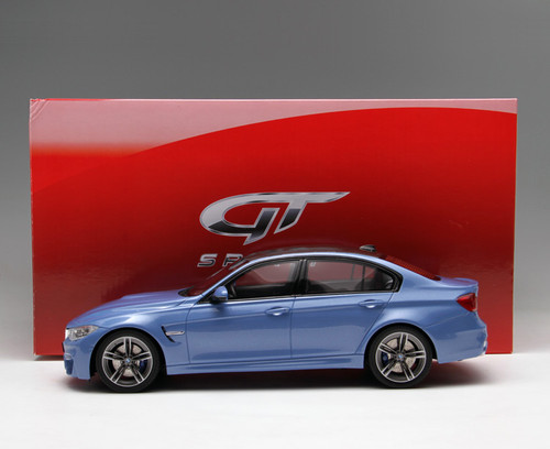 1/18 GTSpirit BMW F80 M3 (Blue) Limited