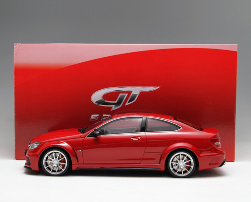 1/18 GTSpirit Mercedes-Benz C63 AMG Coupe (Red) Limited