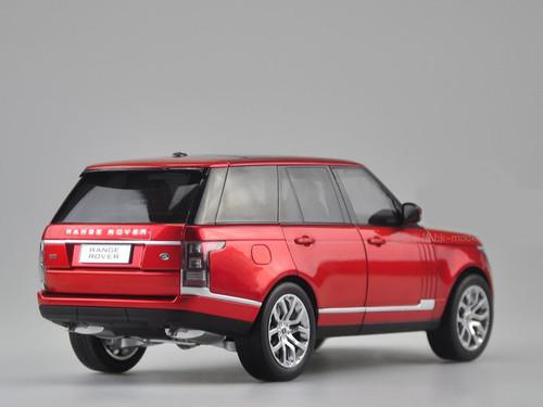 1/18 GTAUTOS Land Rover Range Rover (Red)