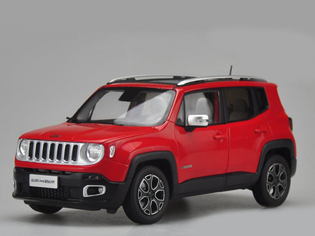 Acura Rdx Accessories >> 1/18 Dealer Edition Jeep Renegade (Red) Diecast Car Model ...