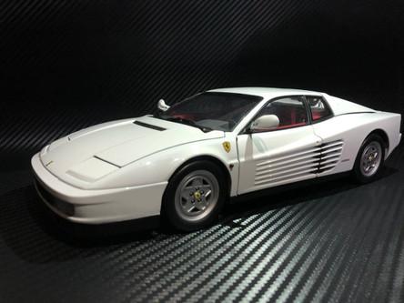 BMW 507 For Sale >> Ultra RARE CUSTOM PAINTED 1/18 Kyosho 1989 Ferrari Testarossa (White) - LIVECARMODEL.com