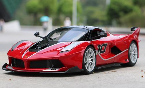 I8 For Sale >> 1/18 Bburago Ferrari Laferrari FXXK Evo #10 (Red) Diecast