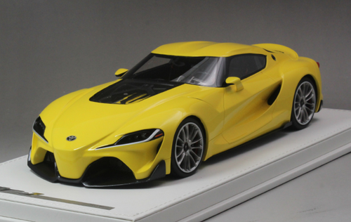 1/18 AutoBarn AB Toyota FT-1 FT1 Concept Car (Yellow