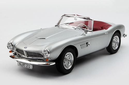 1/18 Norev 1955 BMW 507 Convertible (Silver) Diecast Car ...