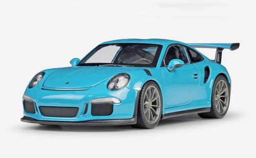 Welly 1:24 Porsche 911 GT3 RS Diecast Model SportCar New in Box Blue Red White
