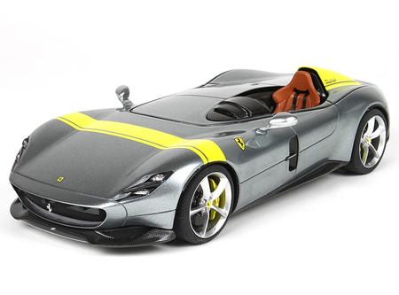 BMW 507 For Sale >> 1/18 BBR Ferrari Monza SP1 (Silver) Resin Car Model - LIVECARMODEL.com