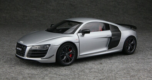 BMW 3 Series Accessories >> 1/18 Audi Collection AUDI R8 GT (SILVER) Diecast Car Model ...