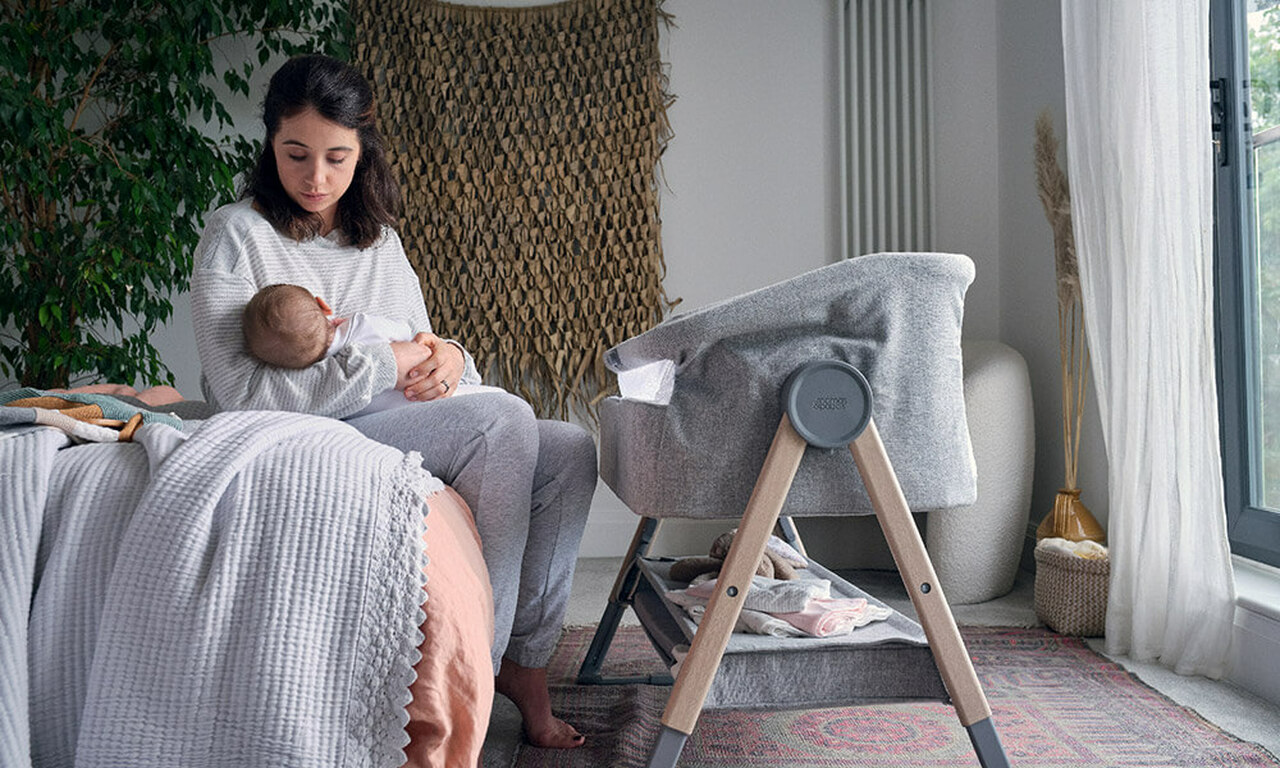 Safely by your side - Introducing the Mamas & Papas Lua Bedside Crib