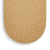 Little Green Sheep Organic Moses Basket Fitted Sheet - Honey Rice