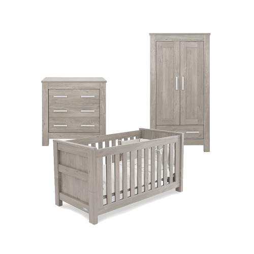 Babystyle Bordeaux Ash Furniture - 3 Piece Room Set