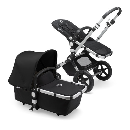 Bugaboo Cameleon 3 Plus on Alu/Black Chassis - Black