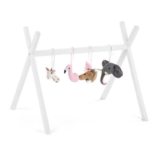 Childhome Tipi Play Gym - White