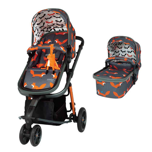 Cosatto Giggle 3 Travel System - Charcoal Mister Fox
