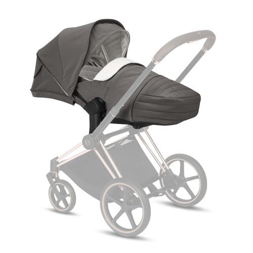 Cybex e-Priam Pram inc Lite Carrycot - Soho Grey