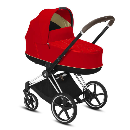 Cybex Priam Travel System inc Lux Carrycot - Autumn Gold