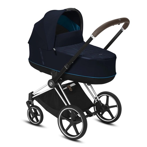 Cybex Priam Travel System inc Lux Carrycot - Nautical Blue