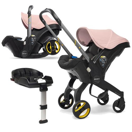Doona+ Infant Car Seat + ISOFIX Base - Blush Pink