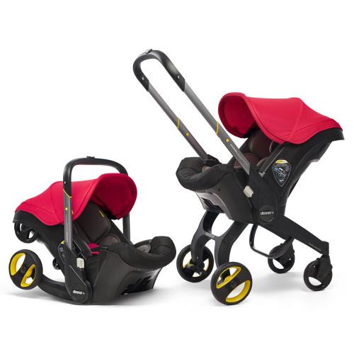 Doona+ Infant Car Seat Stroller - Flame Red