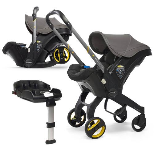 Doona+ Infant Car Seat + ISOFIX Base - Greyhound