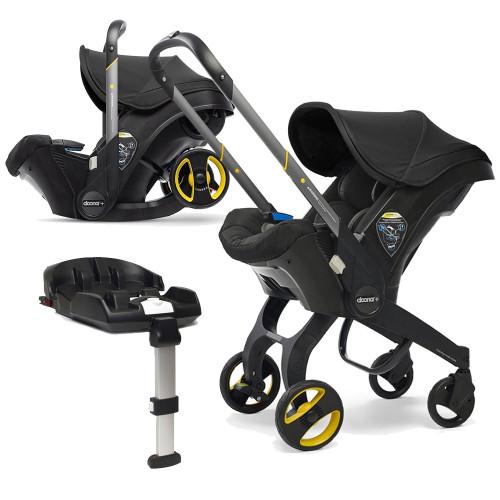 Doona+ Infant Car Seat + ISOFIX Base - Nitro Black
