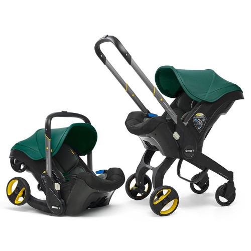 Doona+ Infant Car Seat Stroller - Racing Green