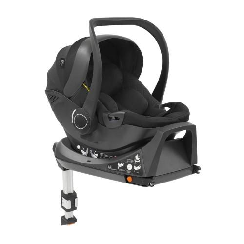 egg® Shell i-Size Car Seat + Isofix Base - Just Black