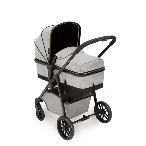 Ickle Bubba Moon 3 in 1 Travel System - Silver Grey