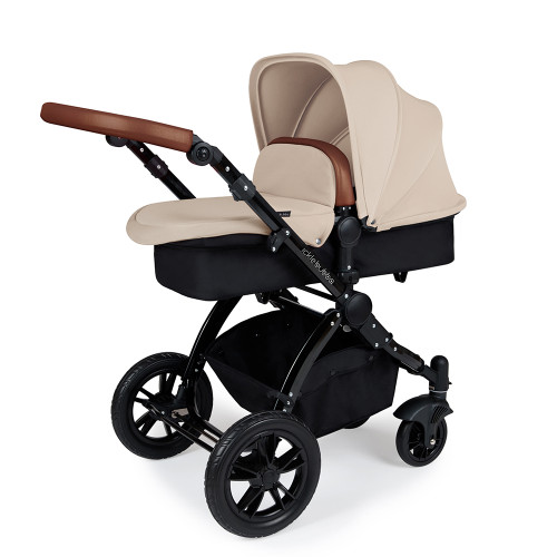 Ickle Bubba Stomp V3 2-in-1 Pram - Sand/Black